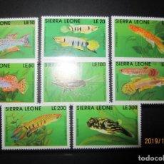 Sellos: SIERRA LEONA 1991 8 V. NUEVO. Lote 186913101