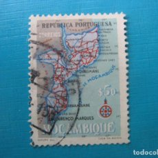 Sellos: MOZAMBIQUE 1954, YVERT 444. Lote 187416331