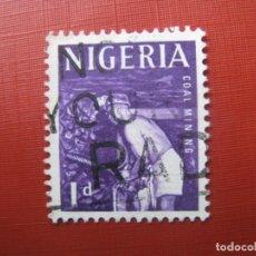 Sellos: NIGERIA 1961, YVERT 98. Lote 187581636