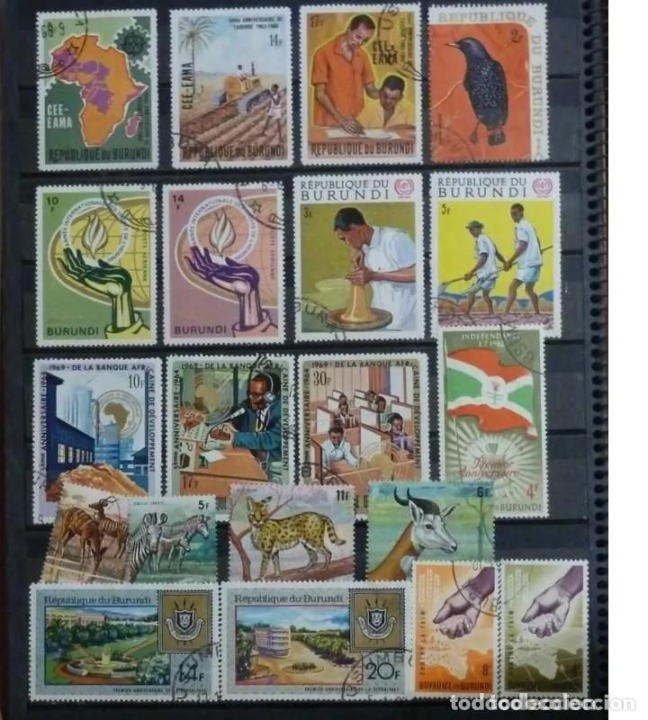 SELLOS DE BURUNDI - FOTO - LOTE 226- 20 SELLOS,USADOS (Sellos - Extranjero - África - Otros paises)