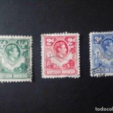 Sellos: RHODESIA DEL NORTE, 1938/52, JORGE VI . Lote 190051913
