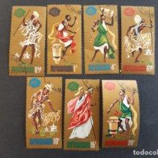 Sellos: BURUNDI, 1964, YT 95-101. Lote 191144391