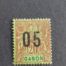Sellos: GABÓN, COLONIAS FRANCESAS, 1912, YVERT 69 (A). Lote 191482412