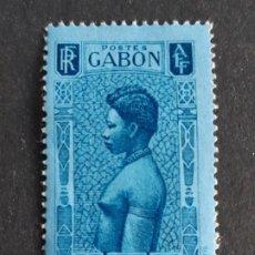 Sellos: GABÓN, COLONIAS FRANCESAS, 1932, YVERT TASAS 23*. Lote 191483497