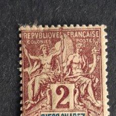 Timbres: DIEGO-SUAREZ, COLONIAS FRANCESAS, 1893, YVERT 39. Lote 191484808