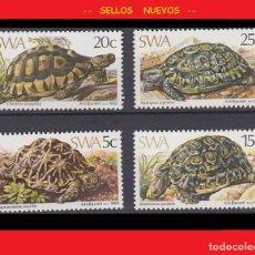 Sellos: LOTE SELLOS NUEVOS - SWA 1982 - REPTILES / TORTUGAS - AHORRA GASTOS COMPRA MAS SELLOS. Lote 191652347