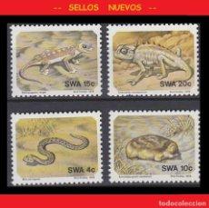 Sellos: LOTE SELLOS NUEVOS - SWA 1978 - FAUNA - AHORRA GASTOS COMPRA MAS SELLOS. Lote 191652420