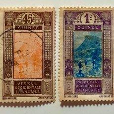 Sellos: LOTE CUATRO SELLOS AFRICA OCCIDENTAL FRANCESA. Lote 191857837
