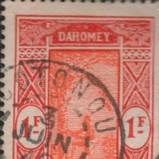 Sellos: SELLO DAHOMEY AOF RF USADO FILATELIA CORREOS STAMP POST POSTAGE. Lote 191941097