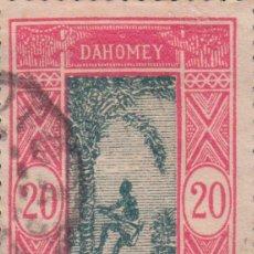 Sellos: SELLO DAHOMEY AOF RF USADO FILATELIA CORREOS STAMP POST POSTAGE. Lote 191941170