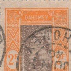 Sellos: SELLO DAHOMEY AOF RF USADO FILATELIA CORREOS STAMP POST POSTAGE. Lote 191941175