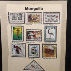 Sellos: SELLOS DEL MUNDO. MONGOLIA. EDICIONES URBION. SELLOS GARAN BOLAFFI.. Lote 192173888