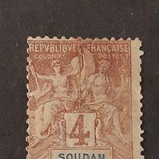 Sellos: SUDÁN FRANCÉS, YVERT 5. Lote 194224687