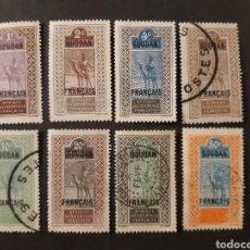 Sellos: SUDÁN FRANCÉS, YVERT 20-24 26 27 32. Lote 194224818