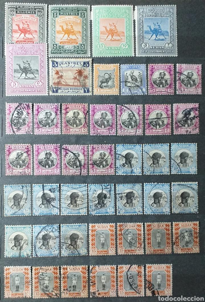 Sellos: Sellos de Sudán nuevos y usados en album de 10 páginas - Foto 5 - 194227836