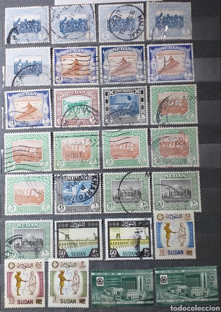 Sellos: Sellos de Sudán nuevos y usados en album de 10 páginas - Foto 6 - 194227836