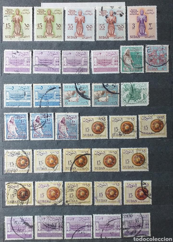 Sellos: Sellos de Sudán nuevos y usados en album de 10 páginas - Foto 7 - 194227836