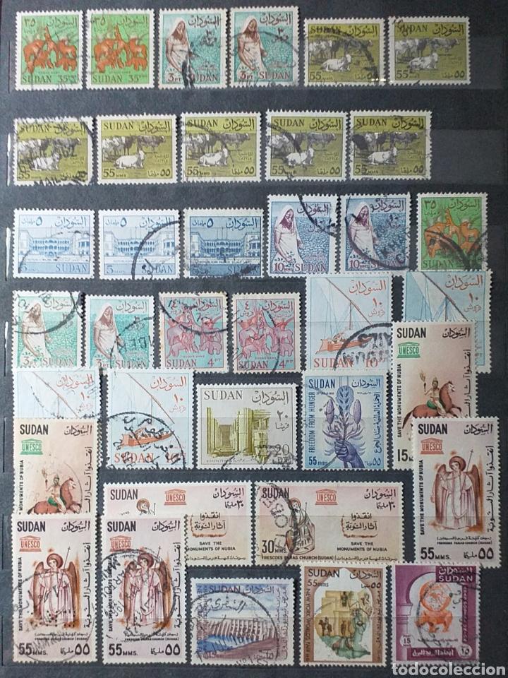 Sellos: Sellos de Sudán nuevos y usados en album de 10 páginas - Foto 8 - 194227836