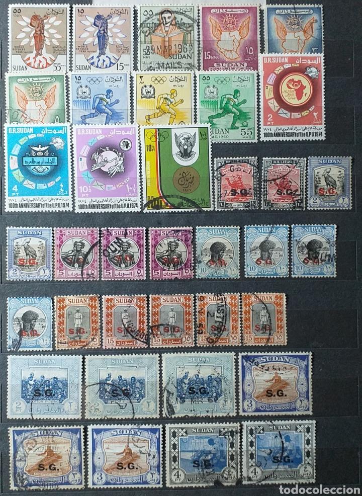Sellos: Sellos de Sudán nuevos y usados en album de 10 páginas - Foto 9 - 194227836