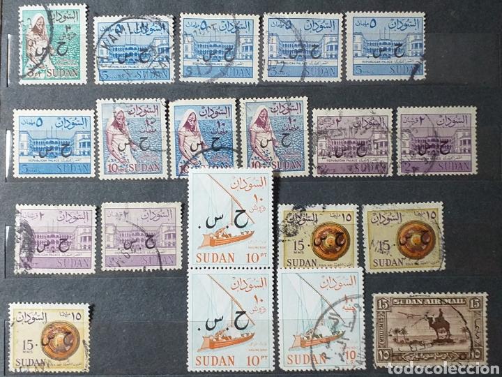 Sellos: Sellos de Sudán nuevos y usados en album de 10 páginas - Foto 10 - 194227836