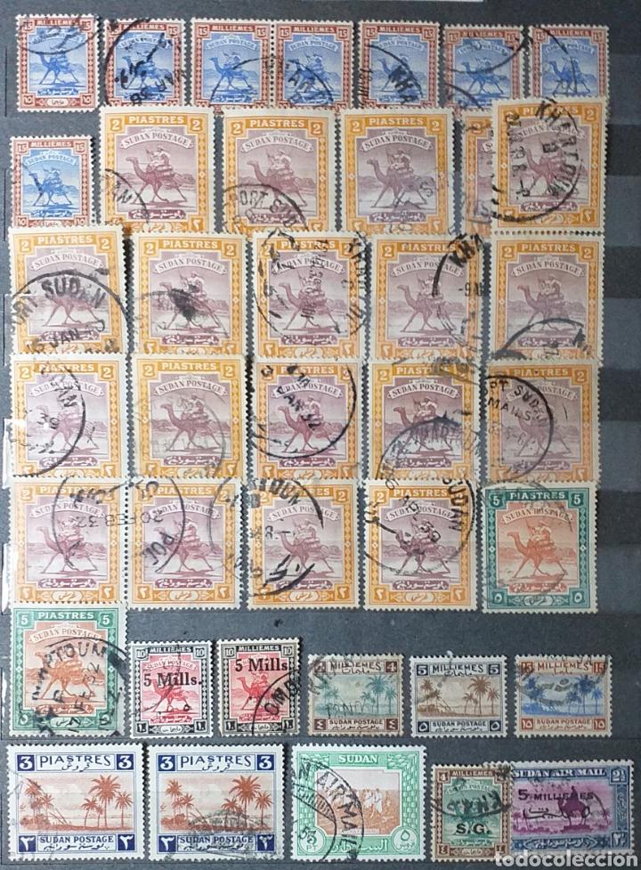 Sellos: Sellos de Sudán nuevos y usados en album de 10 páginas - Foto 13 - 194227836
