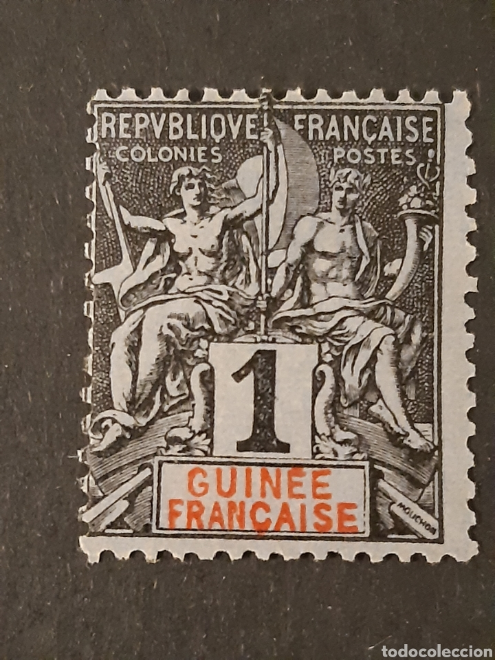 GUINEA FRANCESA, YVERT 1 (Sellos - Extranjero - África - Otros paises)