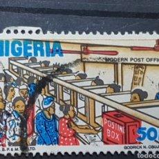 Sellos: NIGERIA_SELLO USADO_OFICINA CORREOS_YT-NG 496 AÑO 1986 LOTE 7566. Lote 194609781