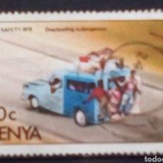 Sellos: KENYA TRANSPORTE SELLO USADO. Lote 194769070
