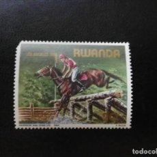 Sellos: RWANDA 1984.. Lote 195083260