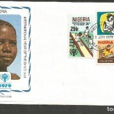 Sellos: NIGERIA SOBRE PRIMER DIA DE CIRCULACION YVERT NUM. 367/369. Lote 195509188