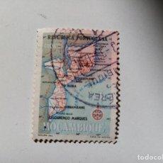 Sellos: 1954 MAPA DE MOZAMBIQUE. REPÚBLICA PORTUGUESA.. Lote 195615558