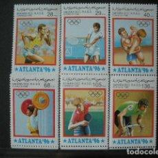 Sellos: SAHARA OCCIDENTAL 1996 *** JUEGOS OLIMPICOS DE ATLANTA - DEPORTES. Lote 195740353