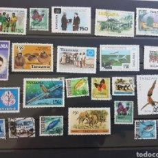 Sellos: LOTE 24 SELLOS DIFERENTES TANZANIA GRAN OPORTUNIDAD OFERTA LIQUIDACION LOTE 258. Lote 198601103
