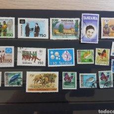 Sellos: LOTE 18 SELLOS DIFERENTES TANZANIA GRAN OPORTUNIDAD OFERTA LIQUIDACION LOTE 259. Lote 198601683