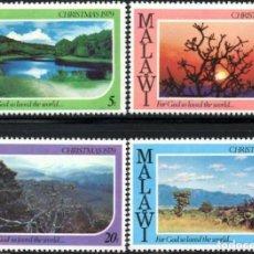 Sellos: SELLOS MALAWI NUEVOS, 1979, NAVIDAD 79, 606-609. Lote 201946862