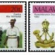 Sellos: SELLOS MALAWI NUEVOS, 1980, DIA DEL RECUERDO, 384-387. Lote 202250696