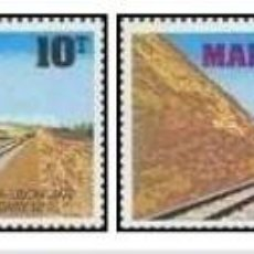 Sellos: SELLOS MALAWI, NUEVOS , 1979, INAGURACION TREN SALIMA-LILONGWE. Lote 202253905
