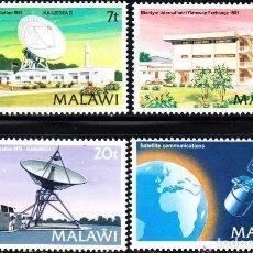 Sellos: SELLOS MALAWI NUEVOS, 1982, TELECOMUNICACIONES,. Lote 202257261