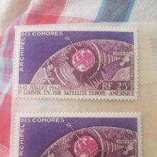 Sellos: 2 SELLOS COMORES. Lote 202851583