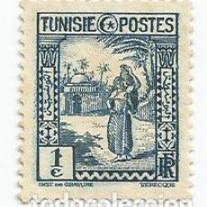 Sellos: SELLO ANTIGUO DE TUNEZ- SERIE PAIS Y GENTE- MUJER ARABE- SCOTT 122- AÑO 1931- USADO. Lote 203111415