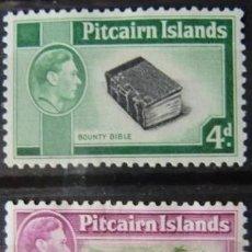 Sellos: ISLAS PITCAIRN - COLONIA BRITANICA - IVERT 17/18 - NUEVOS SIN GOMA -. Lote 205680888