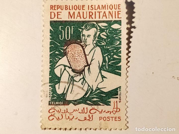 MAURITANIA 1960 50FR (Sellos - Extranjero - África - Otros paises)