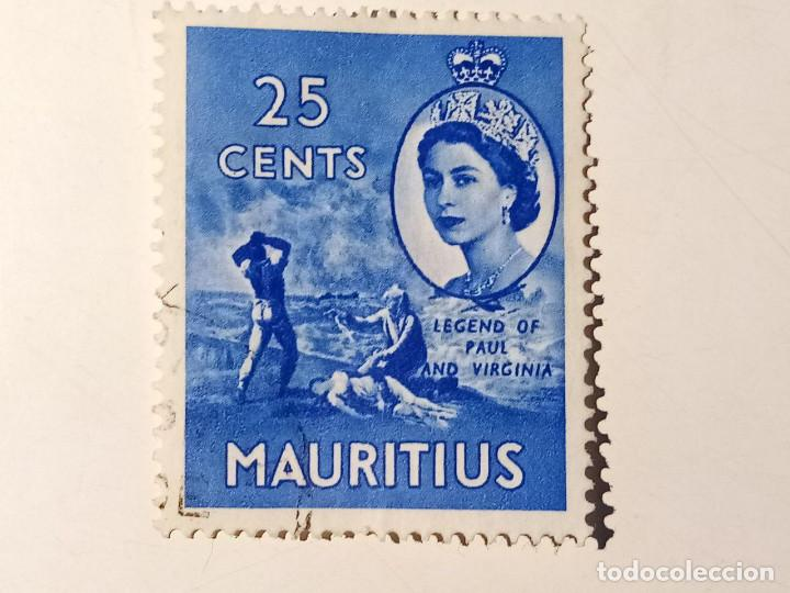 ISLA MAURICIO - 1953 REINA ISABEL II (Sellos - Extranjero - África - Otros paises)