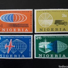 Sellos: NIGERIA YVERT 110/3 SERIE COMPLETA NUEVA SIN CHARNELA. ADMISIÓN EN LA UPU. Lote 206417548