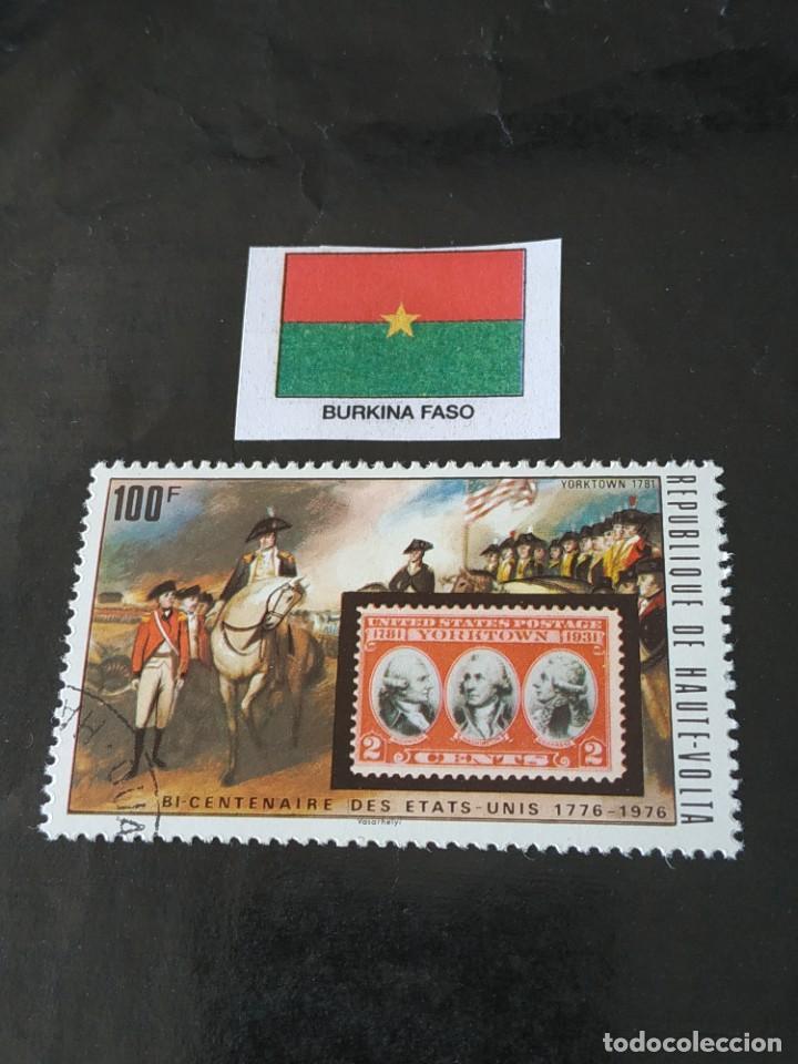 BURKINA FASO A5 (Sellos - Extranjero - África - Otros paises)