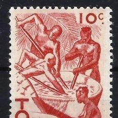 Francobolli: TOGO 1947 - ESCENAS DE LA VIDA TOGOLESA - SELLO NUEVO **. Lote 209210230