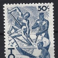 Francobolli: TOGO 1947 - ESCENAS DE LA VIDA TOGOLESA - SELLO NUEVO **. Lote 209210330
