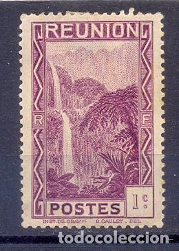 REUNION (RF) CHARNELA YVERT TELLIER 125 (Sellos - Extranjero - África - Otros paises)