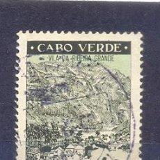 Sellos: CABO VERDE, USADO 1948, VILLA RIBERA GRANDE. Lote 209842500