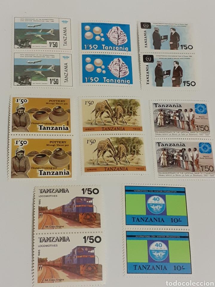 8 BLOQUES DE SELLOS DE TANZANIA,NUEVOS (Sellos - Extranjero - África - Otros paises)
